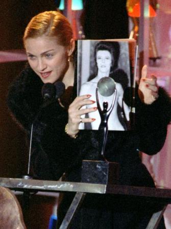 Madonna, David Bowie