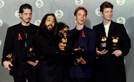 Soundgarden At The Grammy Awards In 1995 Dean Goodman