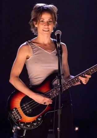 "Sheryl Crow, rehearsing ""There Goes the Neighborhood"" at the Grammys - 1999"